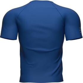Compressport Training SS T-Shirt Men, azul